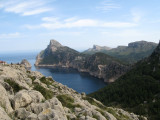 View on the way to Formentor