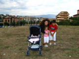 Elena with Angelica, Ilaria and Raffaele