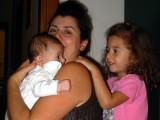 Angelica, Lina and Ilaria