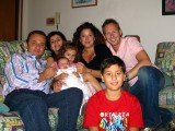 Rocco, Lina, Ilaria, Angelica, Raffaele and me