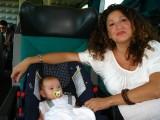 On the train to Aversa
