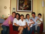 Me, Elena, Raffaele, Nunzia, Angelica, Stefano and Luca