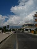 Beach street in Scauri