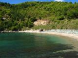 Stone beach in Scauri
