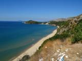 Beach in Sperlonga