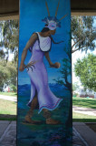 Mural on same column as No. 9
