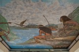 Mural No. 46 - Kiosko - The founding of Tenochtitlan (1978)