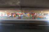 New Mural No. 10 - South Side I-5 Underpass