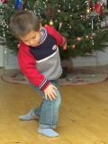 Oliver dancing