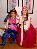 2007-09-12 Oliver and Nicole in Hanbok