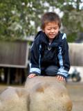 2007-10-02 Oliver on bear