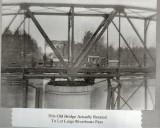 Old Lumber City Bridge Turned