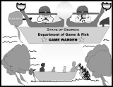 There Are Fish In The River - There Are Also Game Wardens!
