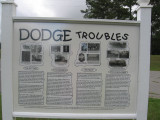 Dodge Land & Timber Troubles (1868-1923) - Marker 6a (Readable)