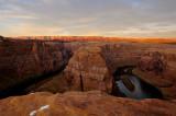 Horseshoe Bend at sunrise-3