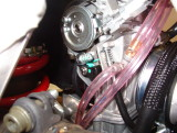 RMZ 250 Accelerator pump Linkage with O-ring