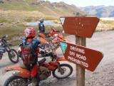 Stony Pass 12,600ft