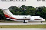 Moncrief Oil's BAe 146-100A N114M (ex B-2705, B-585L, G-GBUX, J8-VBA, G-GVUX, N861MC) corporate aviation stock photo #1857_CP06