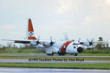 1992 - HC-130H landing during Coast Guard operations after Hurricane Andrew