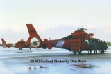 1992 - Coast Guard operations after Hurricane Andrew - HH-65's CG-6547 and CG-6516
