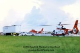 1992 - Coast Guard operations after Hurricane Andrew - HH-65's CG-6509, CG-6540 and volunteers loading supplies