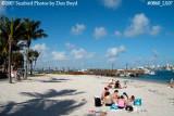 2007 - East side beach on Peanut Island recreation stock photo #0860