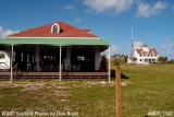2007 - South side view of former Coast Guard Station Lake Worth Inlet boathouse and house building stock photo #0870