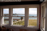 2007 - View of Palm Beach from former 4th floor Watch Tower at former Coast Guard Station Lake Worth Inlet stock photo #0887