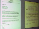 2007 - Letter from Seabee and 1961 orders to Seabees for Kennedy Bunker construction stock photo #0893