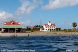 2007 - South view of former Coast Guard Station Lake Worth Inlet on Peanut Island landscape stock photo #0904