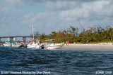 2007 - View of west side of Peanut Island County Park landscape stock photo #0908