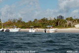 2007 - View of west side of Peanut Island County Park landscape stock photo #0909