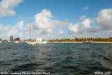 2007 - View of west side of Peanut Island County Park landscape stock photo #0910