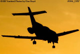 General Electric Capital Corporation's British Aerospace HS125-700A N999CY corporate aviation sunset stock photo #2951