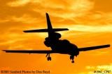 Vulcan Aggregates Company LLC's Dassault Mystere Falcon 50 N5322 corporate aviation sunset stock photo #2961