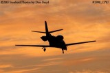 Unknown Cessna Citation 56X corporate aviation sunset stock photo #2990