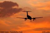 AirHerrig LLC's Beech Super King Air A-200 N637B corporate aviation sunset stock photo #2997
