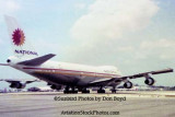 1974 - National Airlines B747-135 N77773 taxiing out on the north side
