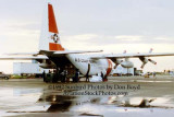 1992 - Coast Guard operations after Hurricane Andrew - HC-130H from USCG Air Station Clearwater