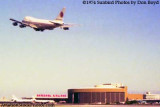 1974 - National Airlines B747-135 N77773 taking off over the National Airlines corporate headquarters and maintenance base