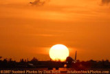 2007 - American Airlines B737-823 takeoff at sunset airline aviation stock photo #3089