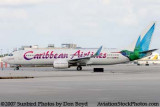 Caribbean Airlines Boeing B737-8Q8 9Y-TAB airline aviation stock photo #3025