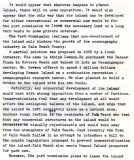 1972 - Draft of report by BM2 Ron Ritchie on history and future of Peanut Island, Page 4
