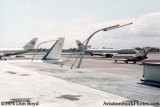 1974 - two National Airlines B747-135s, a National B727 and an Air France B737 at Miami