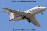 Skyservice Aviation Inc.'s Bombardier Challenger CL-600-2B16 C-FBCR corporate aviation stock photo #3844