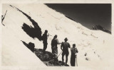 Four Searchers Examining Crevasse Where Victims Are Buried (Baker1939-1.jpg)