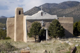 Adobe Church on the Turquoise Trail