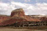 Red Rock near Ghost Ranch