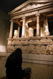 Natasa sketching the Nereid monument (Lycia, between Greece and Persia)