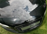 Audi R8 reflecting towers